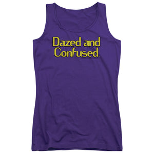 Dazed And Confused - Dazed Logo Juniors Tank Top