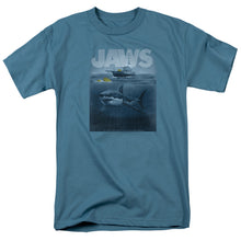 Jaws - Silhouette Short Sleeve Adult 18/1