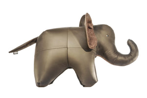Elephant Ottoman Genuine Leather