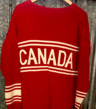 Load image into Gallery viewer, Canada Hockey Sweater