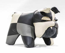 Load image into Gallery viewer, Bulldog Ottoman Genuine Leather