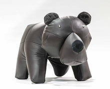 Load image into Gallery viewer, Bear Ottoman Genuine Leather