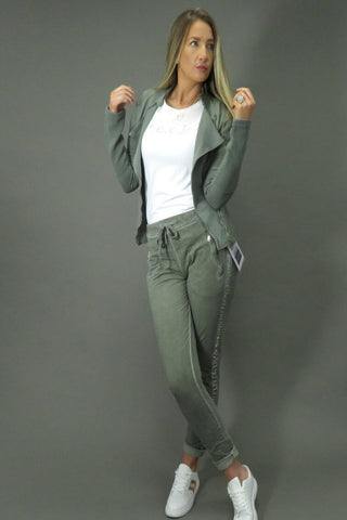 DECK Khaki Jacket & Trousers (Leisure Wear) Style 517149 & 820668