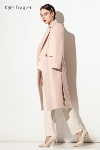 Kate Cooper Blush Pink Coat (Style KCAW 140)