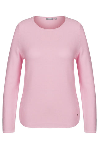 Rabe Baby Pink Embellished Textured Knit Jumper (44-311604 colour 211)