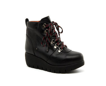 Desiree Black Lace Boots (Style Zero17 Diane)
