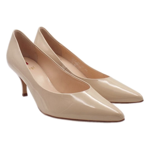 Hogl Cream Pointed Court Shoe (Style 7-106114)