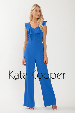 Kate Cooper Marine Blue Jumpsuit