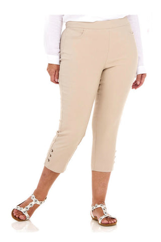 Pinns Stone Crop Trousers with Diamond Eyelets (Style 408C)