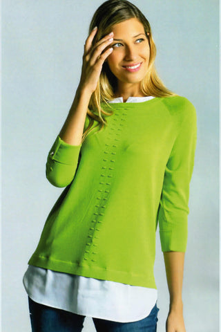 Scorzzo Lime Green Top (Style 120026)