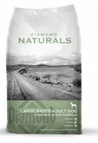 Diamond Naturals Large Breed Lamb and Rice Formula Adult Dry Dog Food