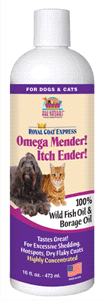 Ark Naturals Omega Mender! Itch Ender! Oil For Dogs and Cats