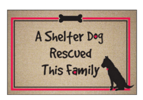 High Cotton A Shelter Dog Rescued This Family Doormat