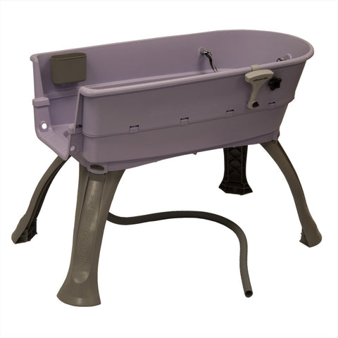 Booster Bath Elevated Lilac Pet Bath
