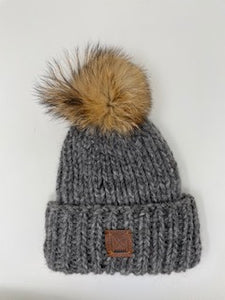 Boothbay Beanie in grey