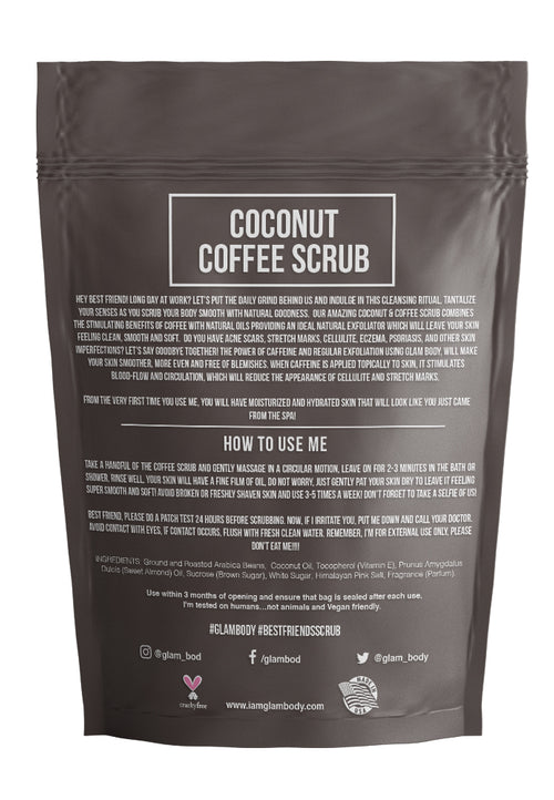 COCONUT BODY SCRUB FOR DRY SKIN