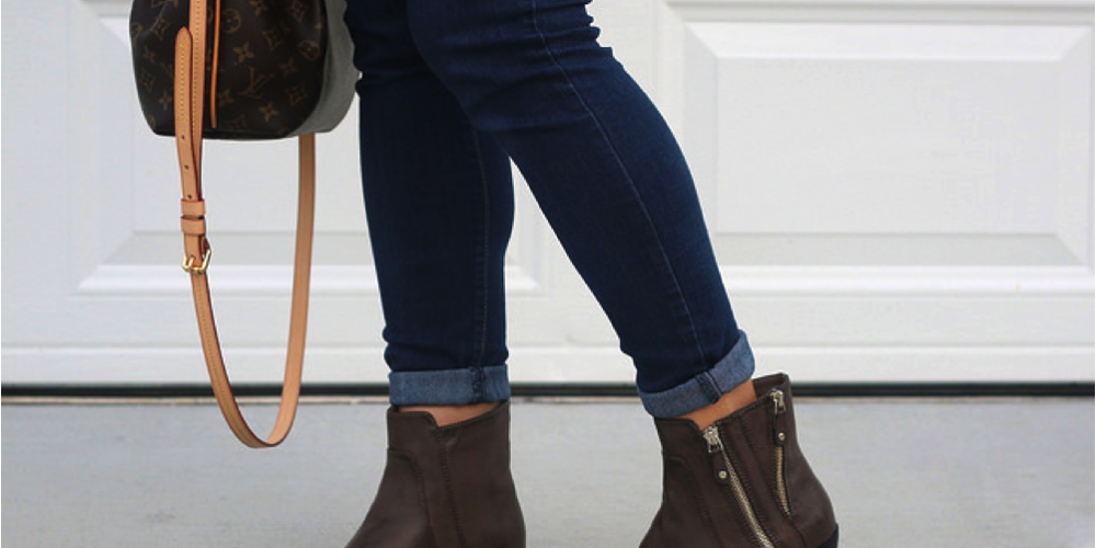 How I'll wear a simple pair of brown boots this fall