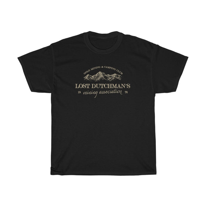 LDMA Logo - Unisex Heavy Cotton Tee - Gold Prospectors Association of America