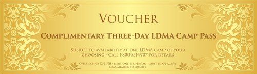 3-Day LDMA Camp Pass - Gold Prospectors Association of America