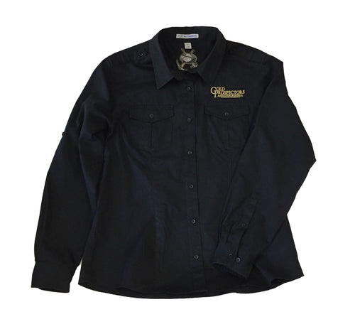 GPAA Port Authority Stain-Release Roll Sleeve Twill Shirt | Men and Ladies