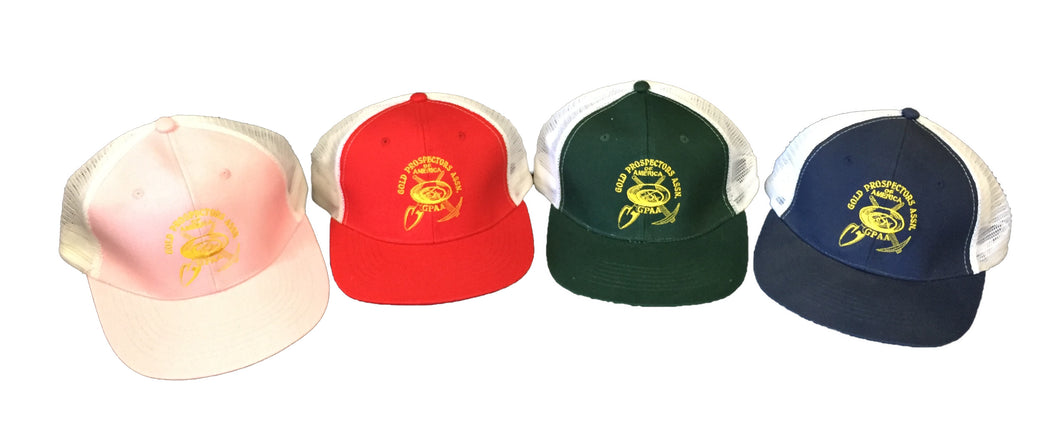 GPAA Mesh Trucker Hat - Gold Prospectors Association of America