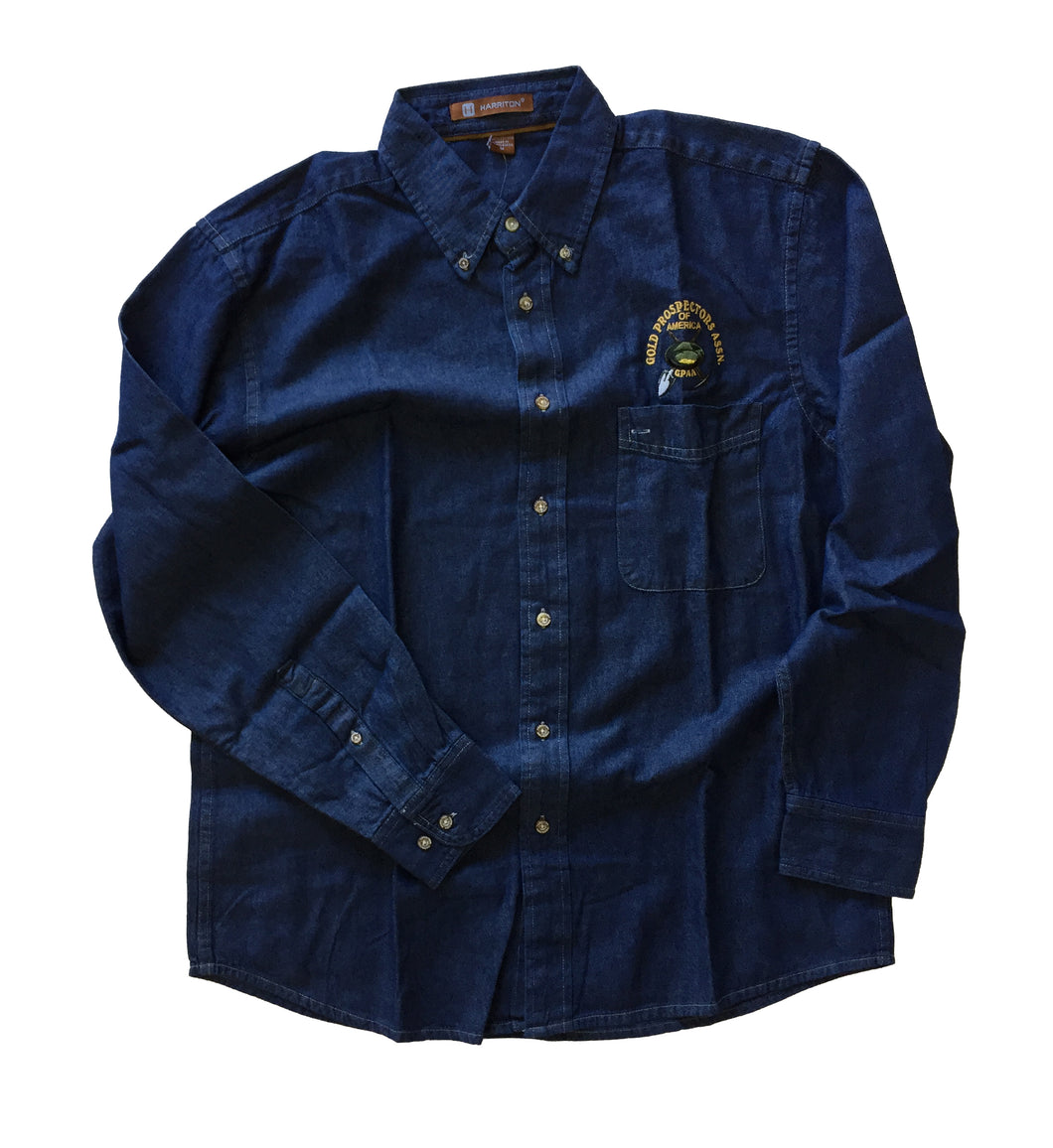 GPAA Denim Button-up Shirt