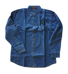 GPAA Denim Button-up Shirt - Gold Prospectors Association of America