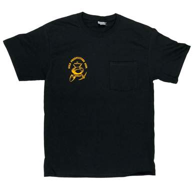 GPAA Short Sleeve Pocket T-Shirt - Gold Prospectors Association of America