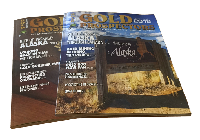 Gold Prospectors Magazine | one-year subscription - Gold Prospectors Association of America