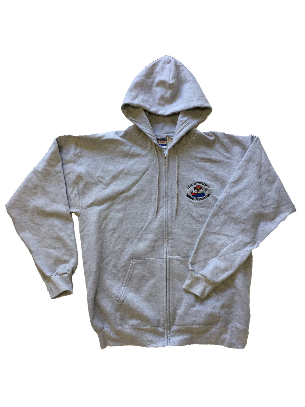 LDMA Zip-up Sweatshirt - Gray