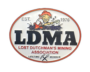 "LDMA Pin ""Established 1976"""