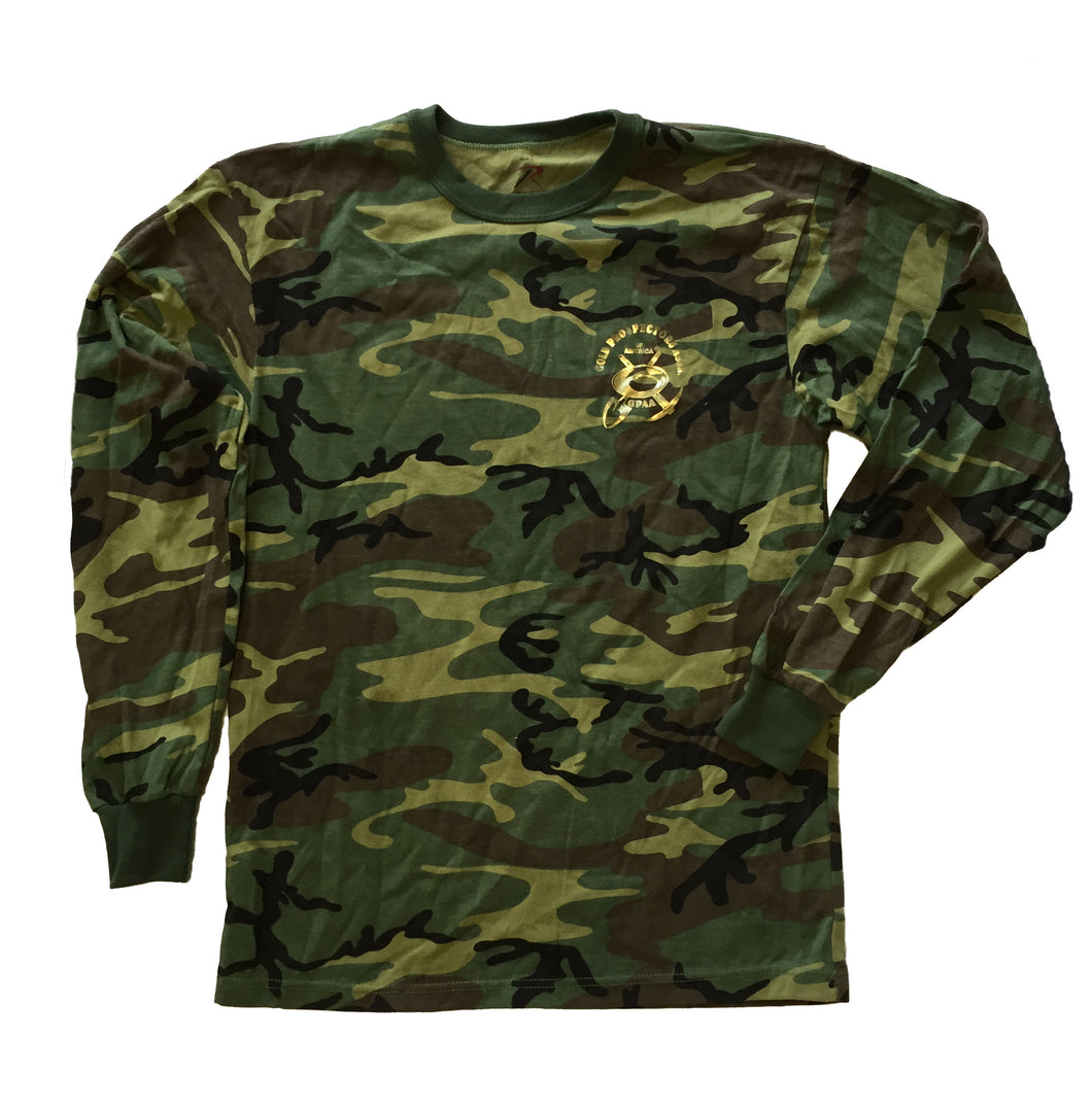 Long Sleeve GPAA T-Shirt - Gold Prospectors Association of America