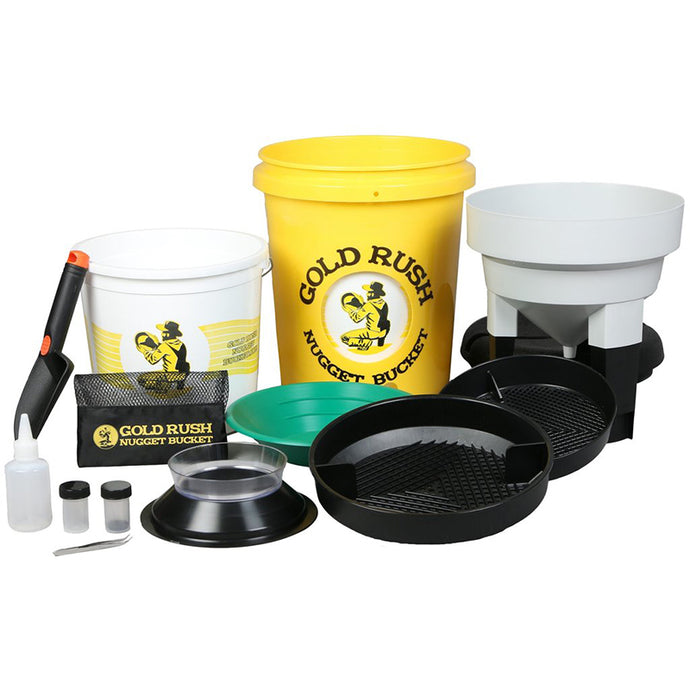 Gold Rush Nugget Bucket with Complimentary Paydirt - Gold Prospectors Association of America