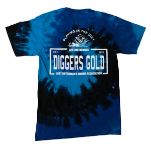 LDMA Tie Dye T-Shirt - Gold Prospectors Association of America