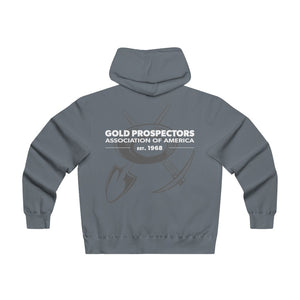 GPAA Prospector - Lightweight Zip Hooded Sweatshirt - Gold Prospectors Association of America