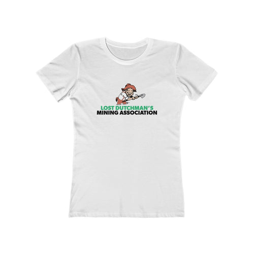 Lost Dutchman's Mining Association | Women's The Boyfriend Tee - Gold Prospectors Association of America