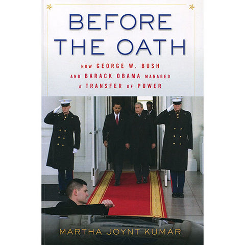 Before the Oath by Martha Joynt Kumar