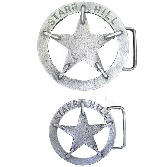 Starr Hill Metal Belt Buckle