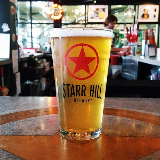 Starr Hill 16 Oz. Pint Glass - Case of 36
