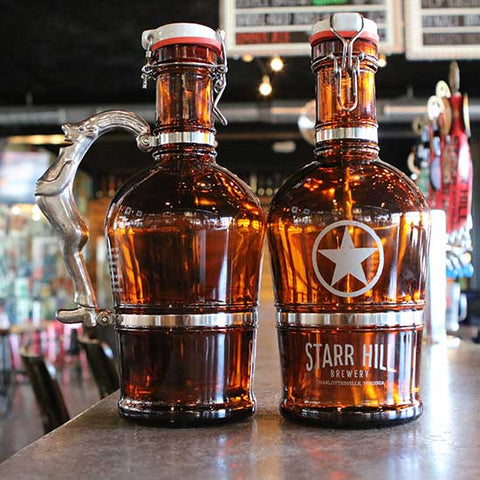 Starr Hill Drunken Man 2L Growler