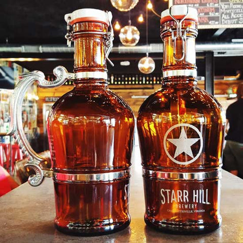 Starr Hill Romantic Handle 2L Growler