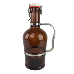 Starr Hill Romantic Handle 2L Growler - Side View