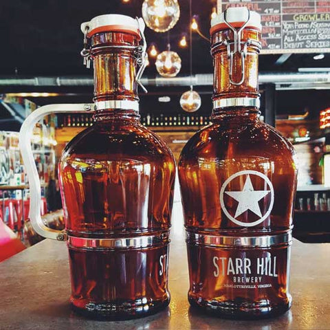 Starr Hill Standard Handle 2L Growler