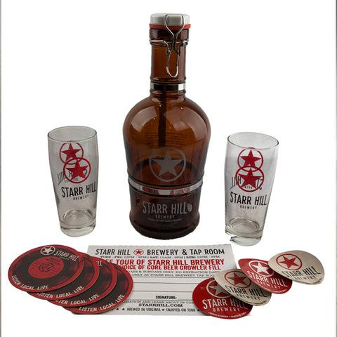 Starr Hill Growler Gift Basket