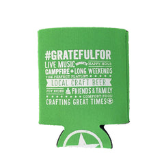 Starr Hill Grateful Pale Ale Koozie - Back View
