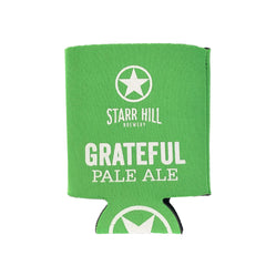 Starr Hill Grateful Pale Ale Koozie - Front View