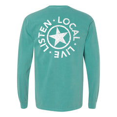 Starr Hill Long Sleeve T-Shirt - Sea Foam Back