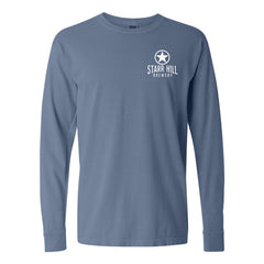 Starr Hill Long Sleeve T-Shirt - Blue Jean Front