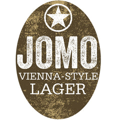 Starr Hill Jomo Vienna-Style Lager Tap Handle Badge