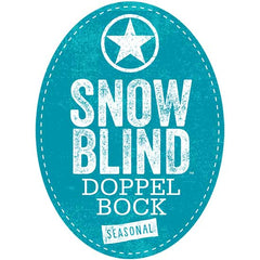 Starr Hill Snow Blind Doppel Bock Tap Handle Badge